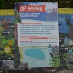 Boekje met daarin en quiz, experimenten en andere safari opdrachten.